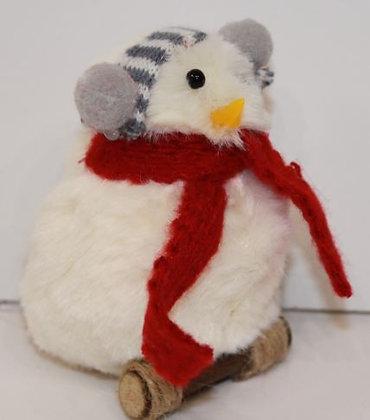 Figurine  Oiseau,  coton couleur mix