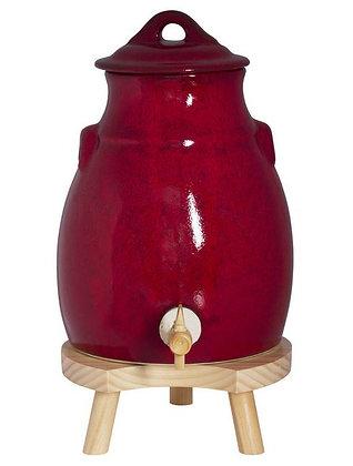 Vinaigrier + socle 3.5 rouge