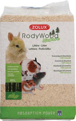 Litière RodyWood Nature 60L