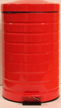 Poubelle rouge