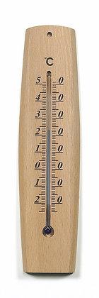 Thermomètre arrondi bois