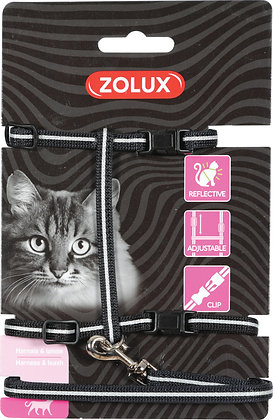 Kit de sellerie pour chat noir