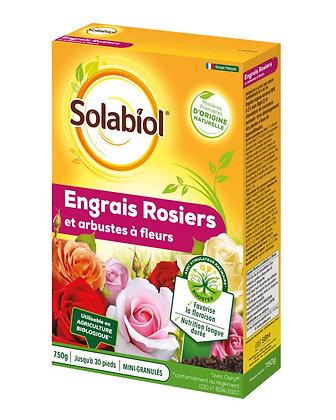 Engrais rosier et arbustes à fleurs 750g