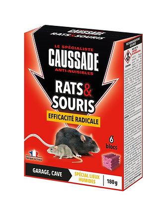 Rats & Souris Efficacité radicale 6 blocs 180g