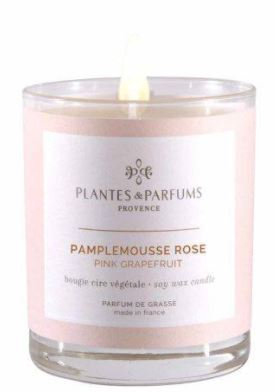 Bougie Pamplemousse Rose