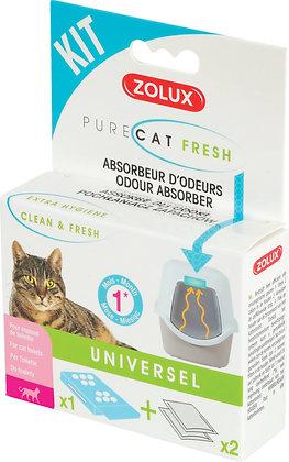 Kit anti-odeurs Purecat Fresh