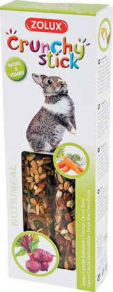 Crunchy stick lapin carotte/betterave 115g