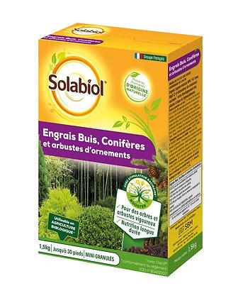 Engrais buis conifères et arbustes d'ornements1,5kg