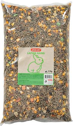 Aliment composé pour lapins nains 3kg