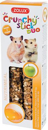 Crunchy stick hamster pomme+oeuf 115g