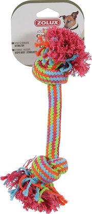 Jouet corde 2 nœuds 48cm