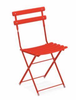 """Chaise pliable """"ARC EN CIEL"""""""