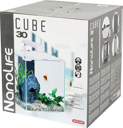 Aqua Nanolife Cube 30 blanc