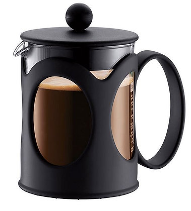 Cafetiere.ken 4-6 tasse noir
