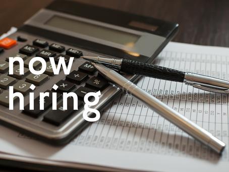 VITA now hiring a bookkeeper