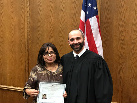 Elva Cervantes becomes a Citizen