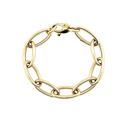 Jumbo Oval Chain Bracelet