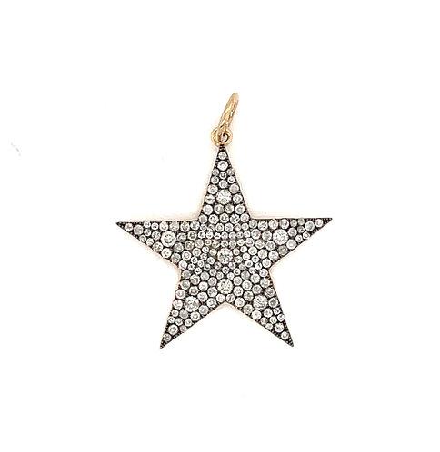 Mosaic Diamond Pave Star