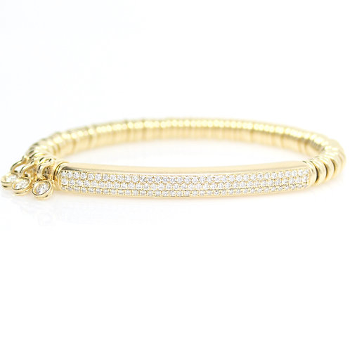 Diamond Bar Stretch Bracelet