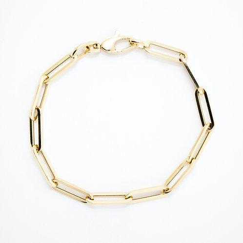 Medium Paperclip Chain Bracelet