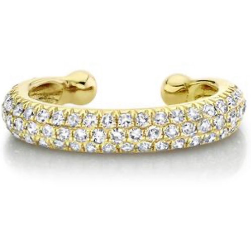 Jumbo Pave Diamond Ear Cuff