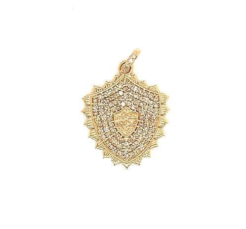 Diamond Pave Shield