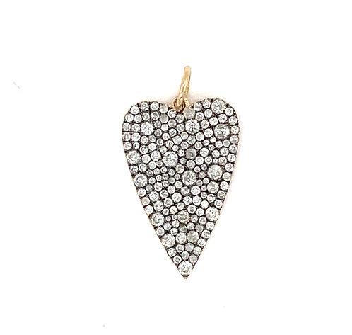 Mosaic Diamond Heart