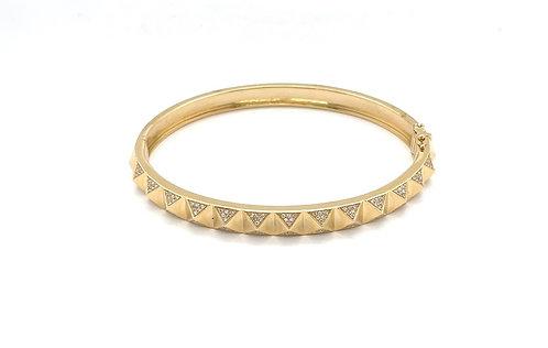 Diamond Pyramid Bracelet
