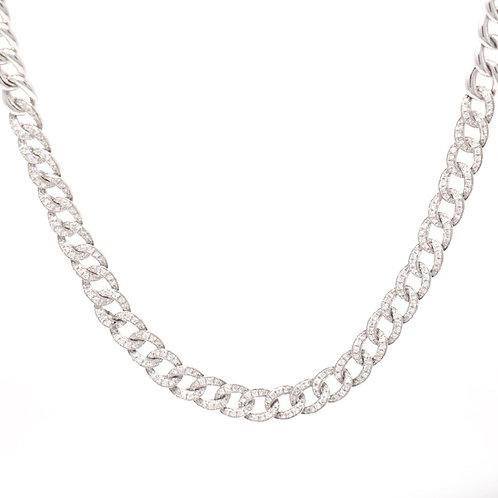 Diamond Link Chain Choker