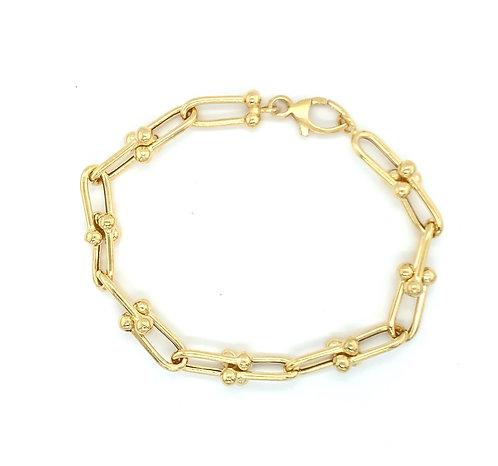 Hardware Link Bracelet