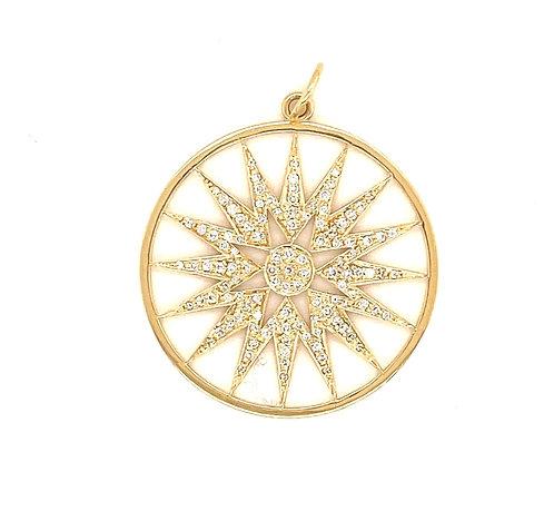 Large Diamond Starburst