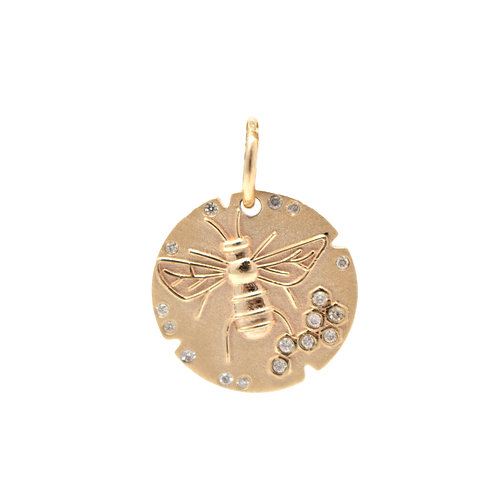 Bee Disk Charm