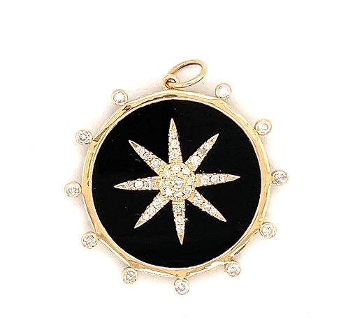 Black Onyx Star Disk