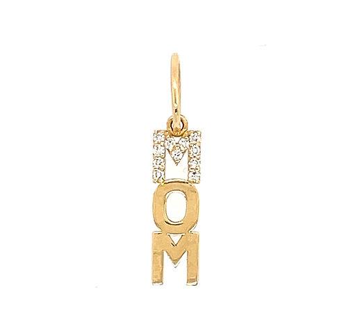 Diamond Mom Charm