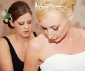 Sarah Robinson Warrington Wedding Day Make-up Artist