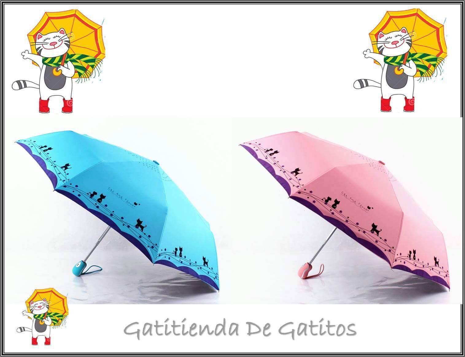 Paraguas Gatitos 640$