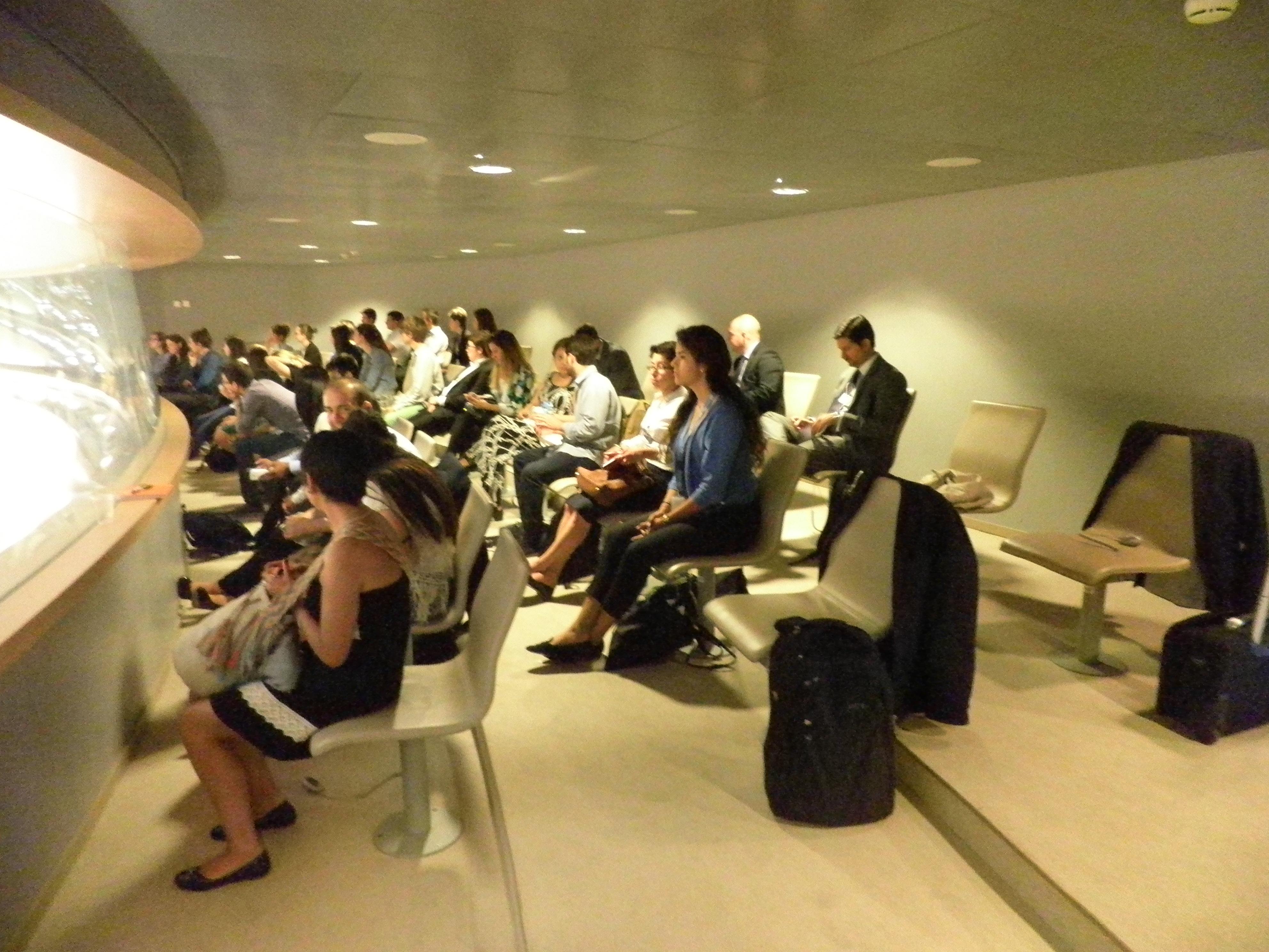 Sesión presencial en el OHCHR