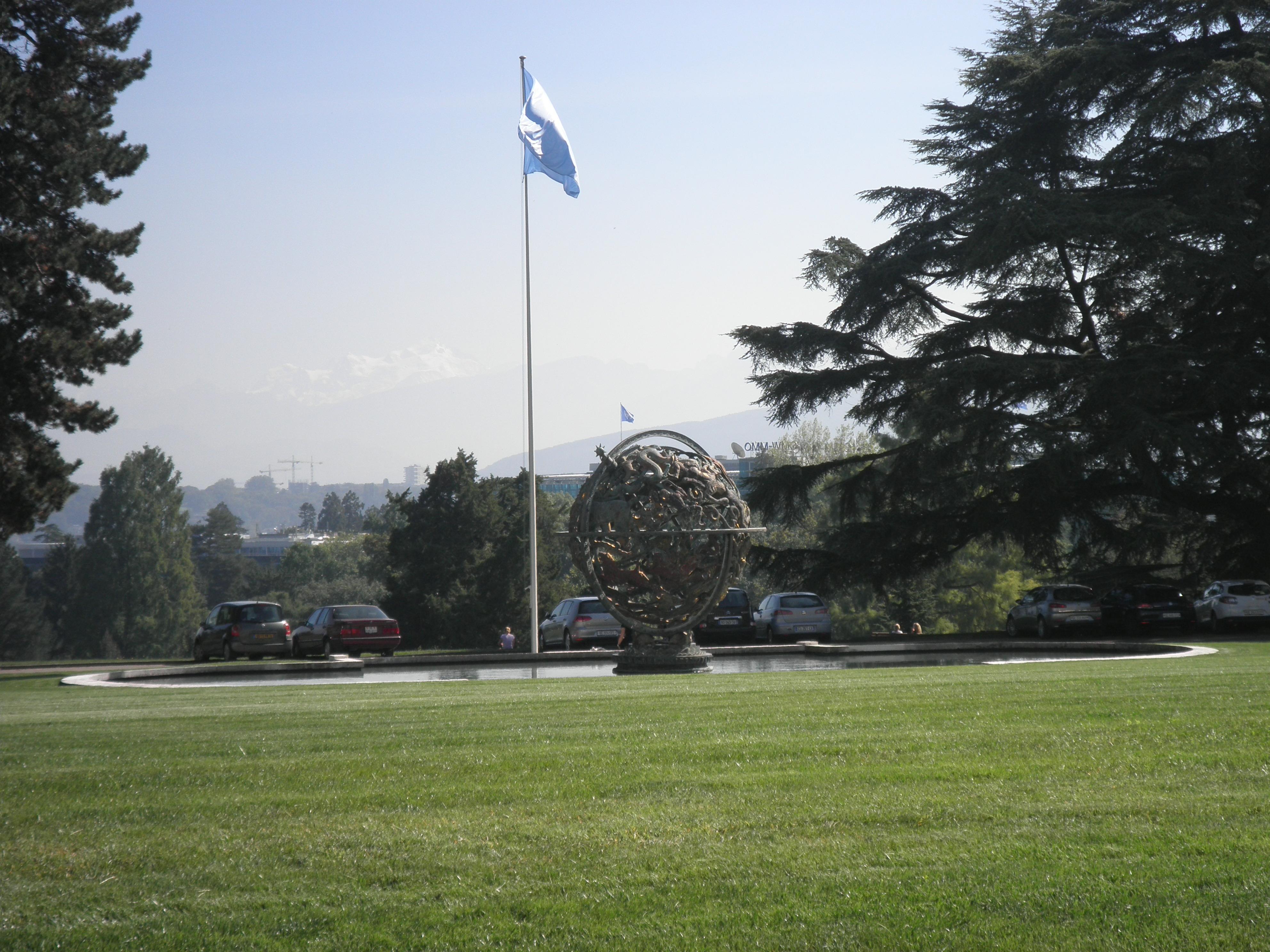 Jardín Palacio de Naciones