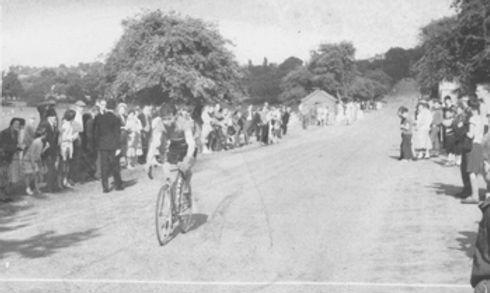 Frank Beale 1949 Notts Centre Massed Start Road Race
