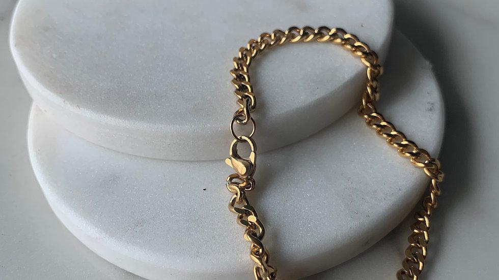 chunky chains bracelet