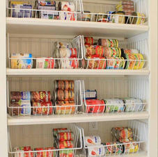 Pantry wire baskets
