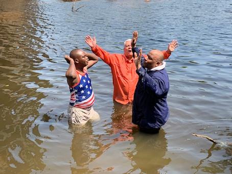Baptized 15 at Barkley Farm