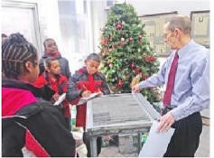 Apostolic Academy visits The Daily Union