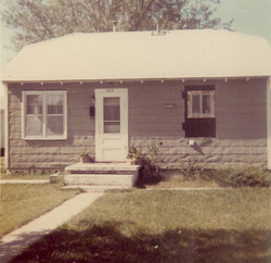 Parsonage at Barracks Building October '92