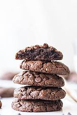 Chocolate Peanut Butter Flourless Cookie