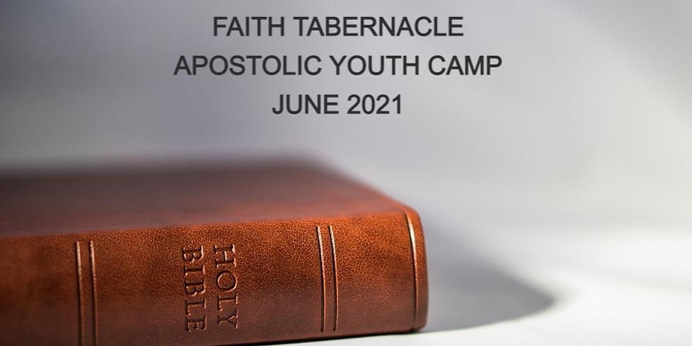 APOSTOLIC YOUTH CAMP 2021