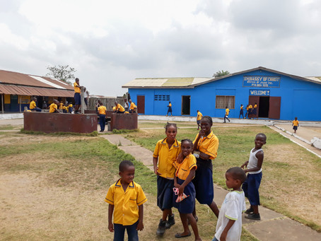 School, Youth Conference, and first baptism in Liberia