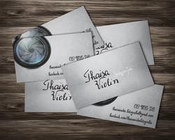 Cartão de Visita Thaisa Violin