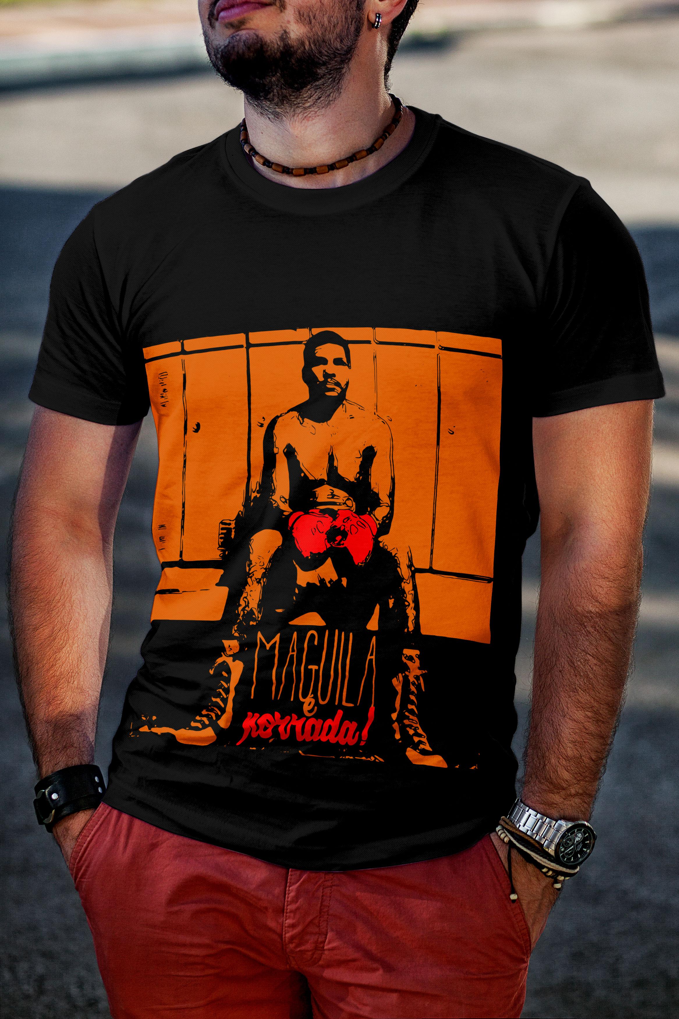Camiseta / Estampa Maguila