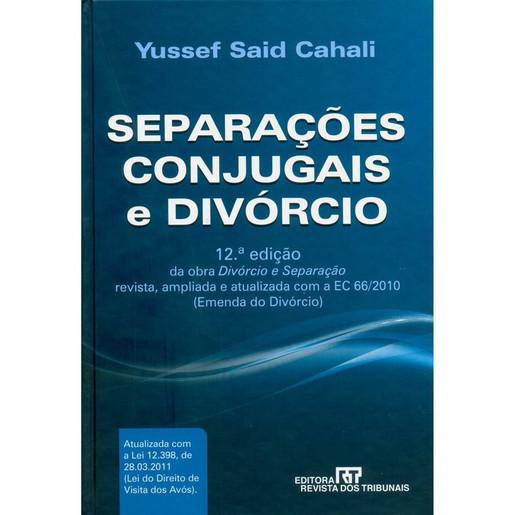 Separações Conjugais e Divórcio, 2011